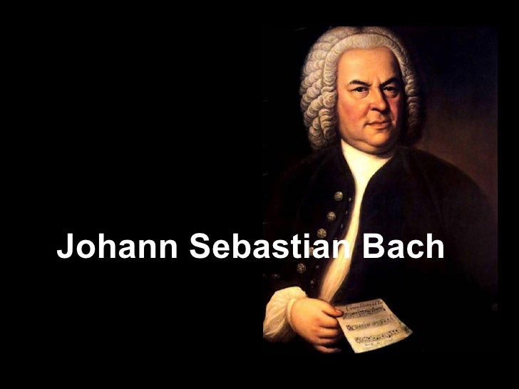 the biograhphy of johann sebastian bach Johann sebastian bach (1685-1750) is one of the great composers in western musical history he was born in eisenach, germany, into a family of working musicians .