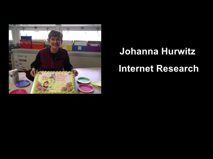Johanna Hurwitz  Internet Research