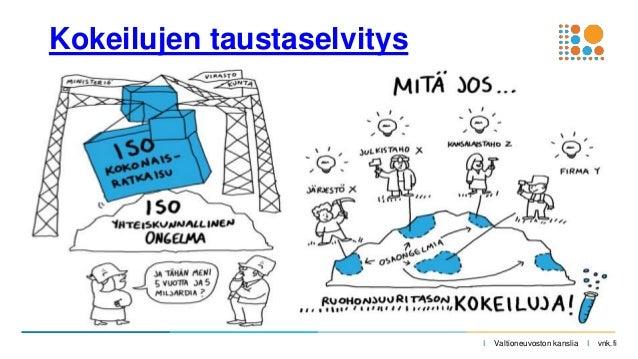 I Valtioneuvoston kanslia I vnk.fi Kokeilujen taustaselvitys