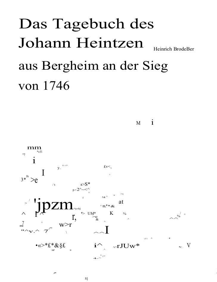 Johann heintzen[1]