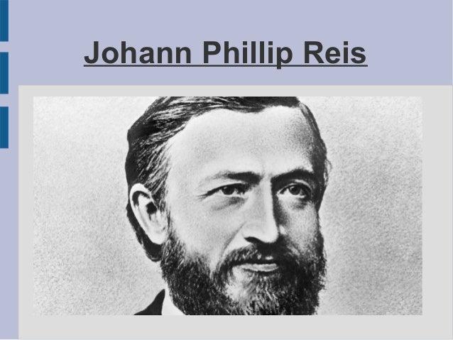 Johann Phillip Reis