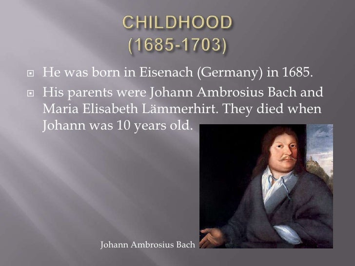 the life of johann sebastian bach Get information, facts, and pictures about johann sebastian bach at encyclopediacom make research projects and school reports about johann sebastian bach easy with.