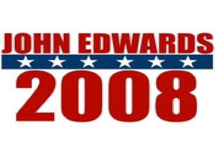 John Edwards Slide 1