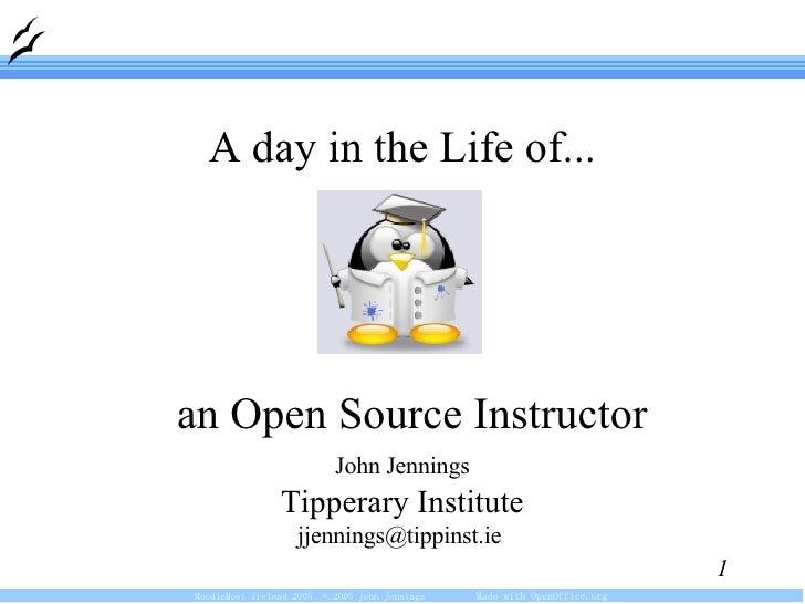 <ul><ul><li>John Jennings </li></ul></ul><ul><ul><li>Tipperary Institute </li></ul></ul><ul><ul><li>jjennings@tippinst.ie ...