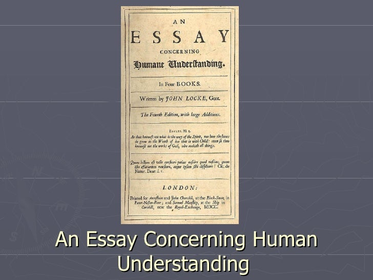 locke an essay concerning human understanding book 2 chapter 1 summary