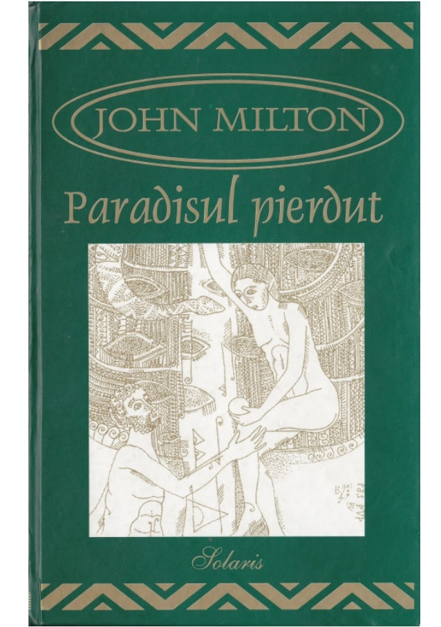 JOHN MILTON PARADISUL PIERDUT Aldo Press