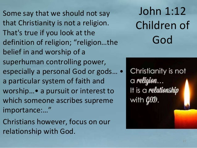Children should not be forced to believe in a particular religion