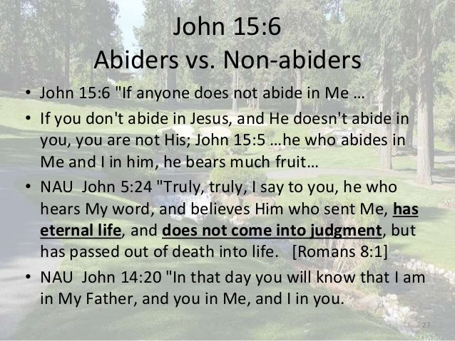 the emphasis on i am in john 858 and the tie created by it between the jesus and the god in the old  The relationship between the old testament & the new testament in john 5 jesus said that's why that is the way god created things to begin with.