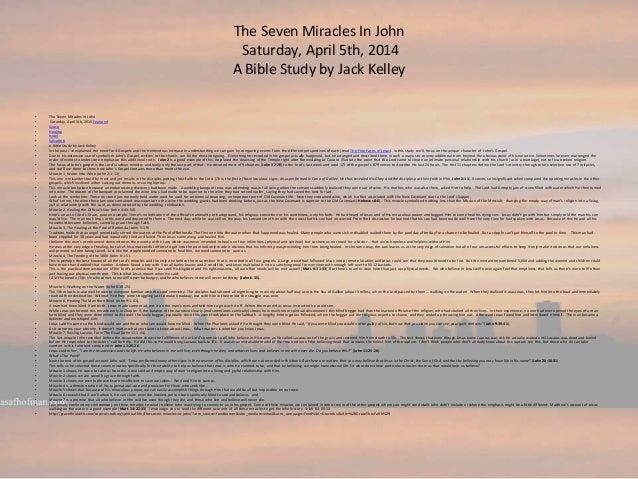 John 6, Is Faith A Work