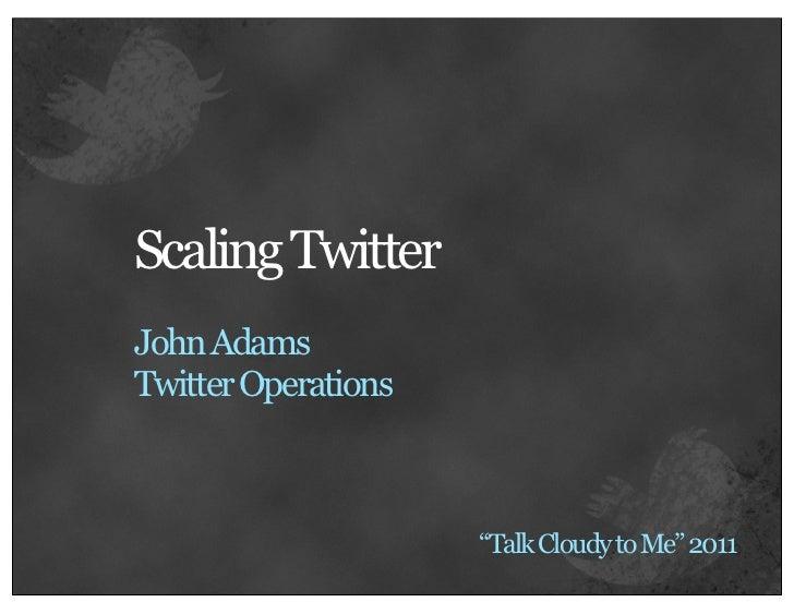 John adams   talk cloudy