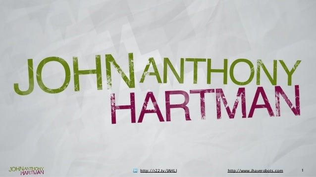 1http://r22.tv/JAHLI http://www.ihaverobots.com