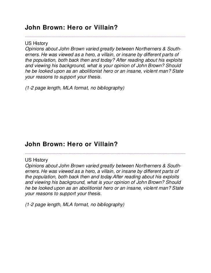 Essay Paper Generator John Brown Articles John Brown Essay Synthesis Essay Prompt also Simple Essays In English John Brown Essay Compare And Contrast Essay High School And College