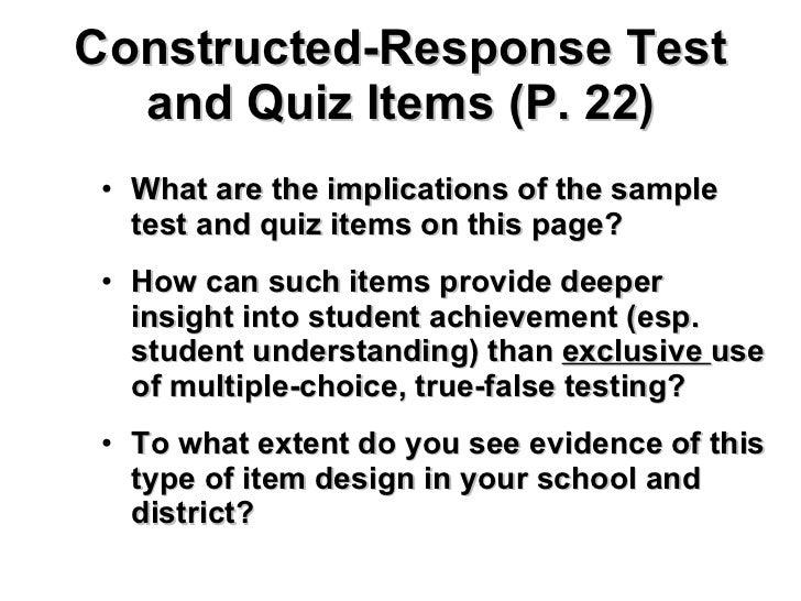 John brown standards based assessment