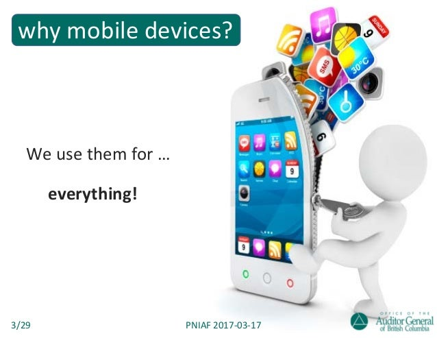 Smartphones & tablets in government — a CISO-turned-auditor's take on mobile devices Slide 3
