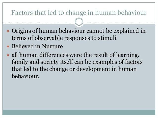 Random human behaviour study