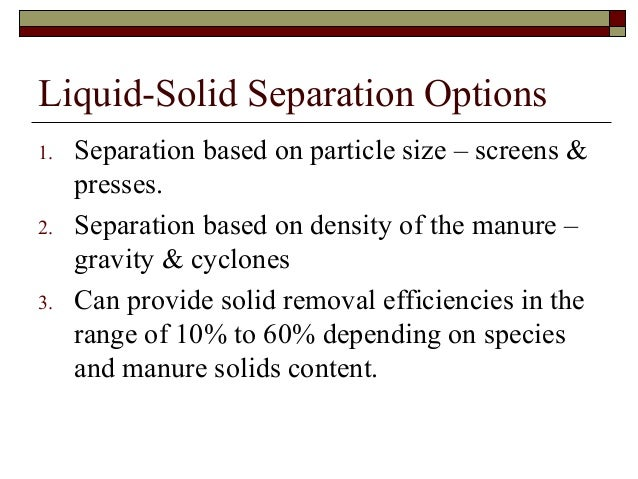 separating 3 solids essay 6 separation of mixtures 6 3 62 magnetic attraction filtration can be applied to separate insoluble solids from liquids as well as solids from solids materials required for separating solids from liquids include: a large beaker.