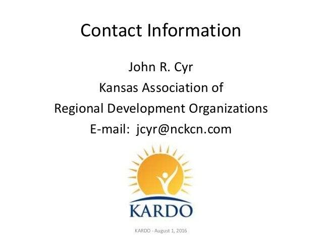 What are regional development agencies?