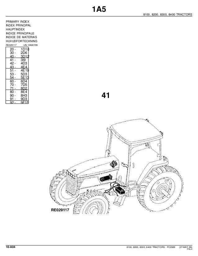 John deere 8100, 8200, 8300, 8400 tractors parts catalog on john deere stx38 wiring diagram, john deere 2130 wiring diagram, john deere 317 wiring diagram, john deere 755 wiring diagram, john deere 5525 wiring diagram,