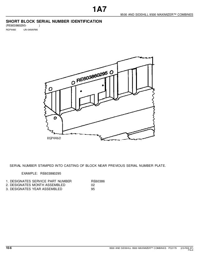 john deere 9500 and sidehill9500 maximaizer combines parts catalog rh slideshare net Transmission for John Deere 9500 Combine Wiring Diagrams John Deere Tractor Wiring Diagrams