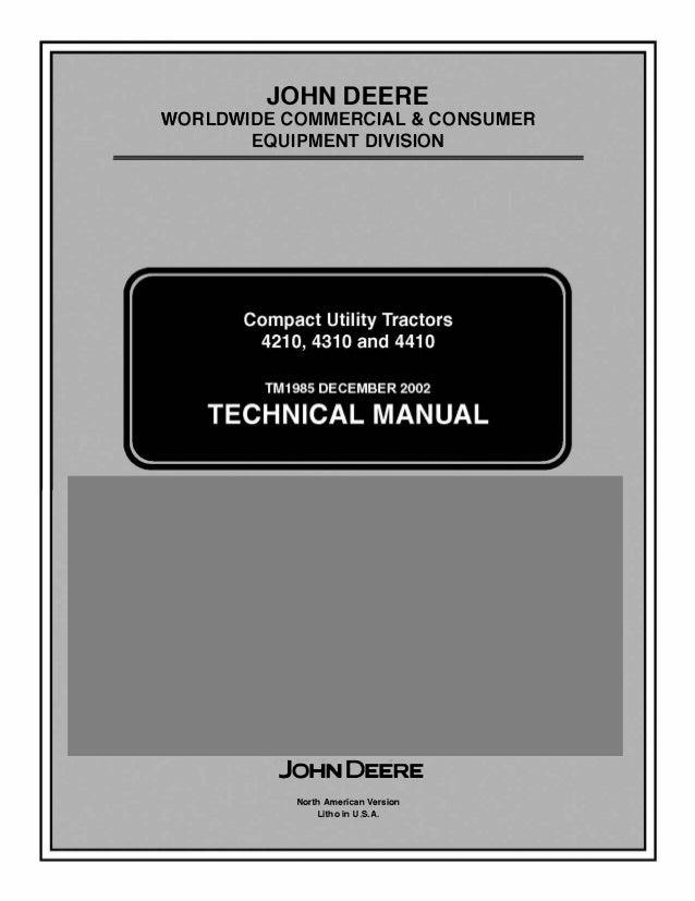 John Deere Compact Utility Tractors 4210 4310 4410 Technical ... on john deere l100 wiring schematic, lawn mower wiring schematics, john deere lt155 wiring schematic, john deere 4010 wiring schematic, john deere engine schematics, john deere 140 wiring schematic, john deere l 118 schematics, john deere 3010 starter wiring, john deere 265 wiring schematic, john deere stx38 wiring schematic, john deere 4430 wiring schematic, john deere ignition wiring 1010, john deere 445 wiring schematic, john deere 318 wiring schematic, john deere 112 wiring schematics, john deere 650 schematics, john deere 317 wiring schematic, john deere l120 wiring schematic, john deere 116 wiring schematic, john deere a wiring schematic,