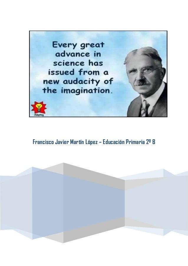 Francisco Javier Martín López – Educación Primaria 2º B