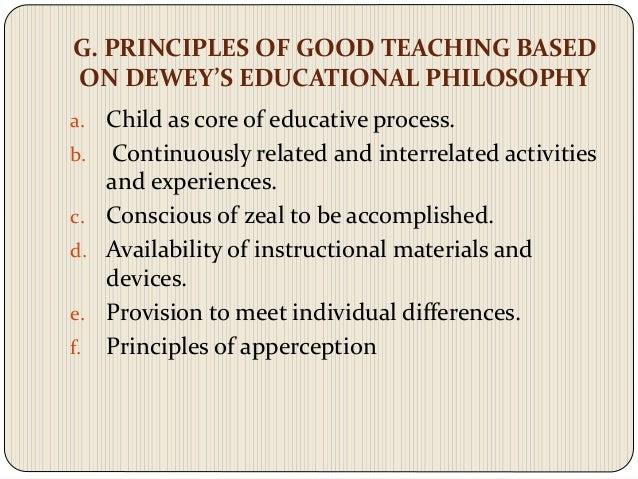 john dewey views on education