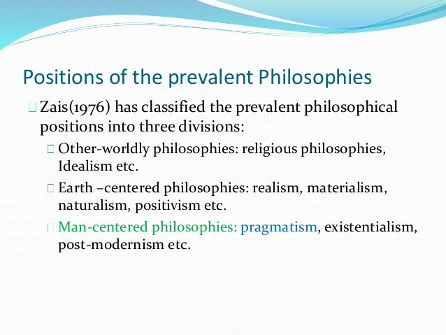 Philosophy of the United States Education