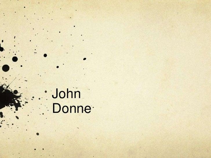 John Donne<br />