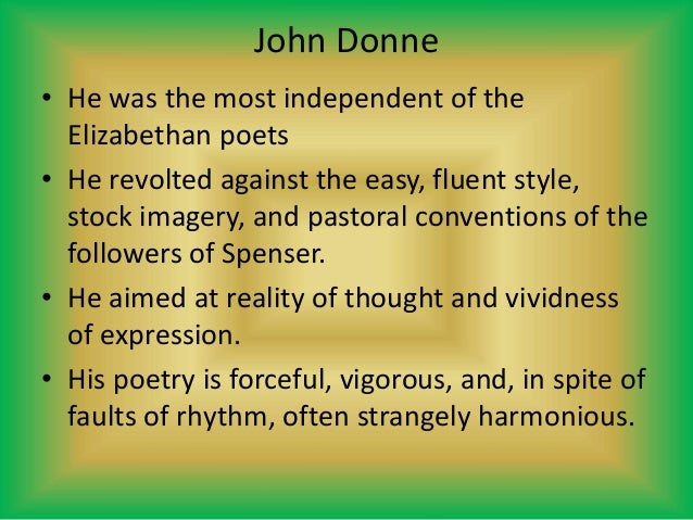 john donne poetry themes