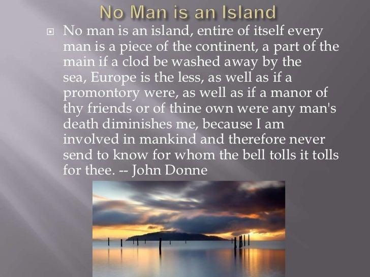 john donne poems no man is an island