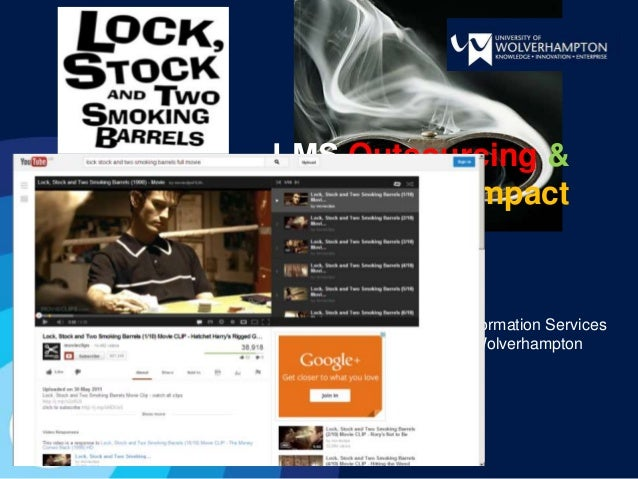 …LMS Outsourcing &Organisational ImpactJohn DowdLearning & Information ServicesUniversity of Wolverhampton