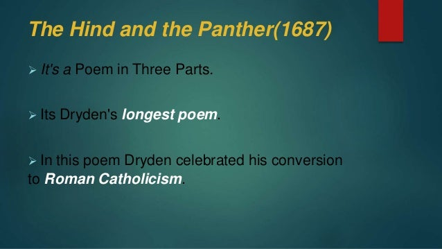the panther poem