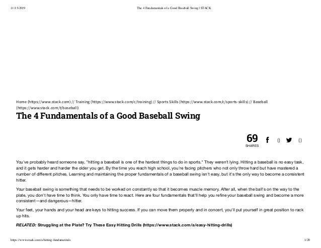 4: Fundamentals