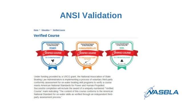 ANSI Validation