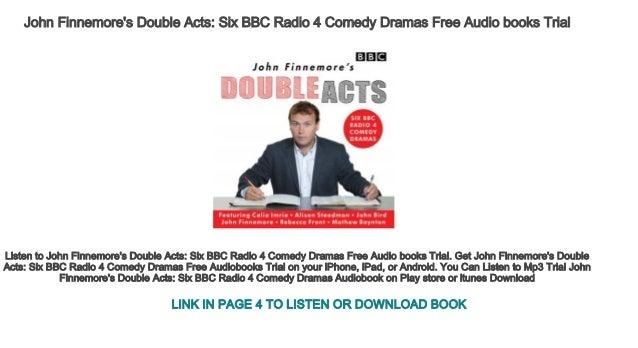 John Finnemore's Double Acts Six BBC Radio 4 Comedy Dramas Free Audio…