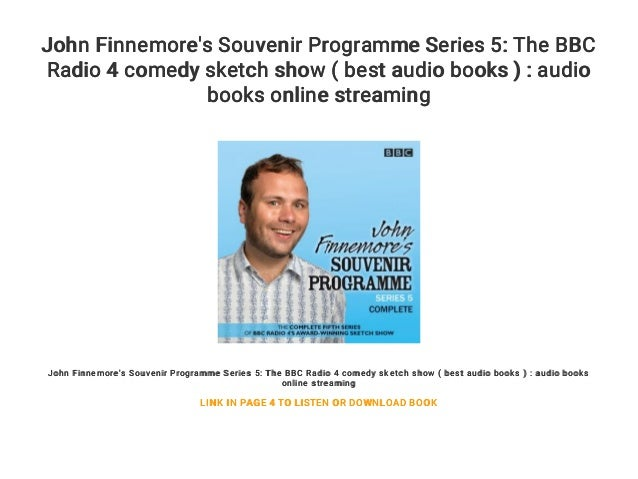John Finnemore's Souvenir Programme Series 5: The BBC Radio