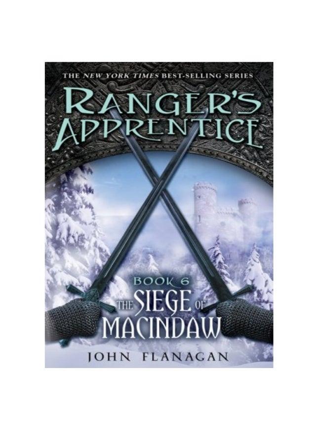 John flanagan rangers - ordem dos arqueiros 6 - cerco de