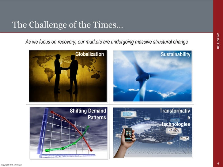 The Challenge of the Times… As we focus on recovery, our markets are undergoing massive structural change Copyright © 2009...