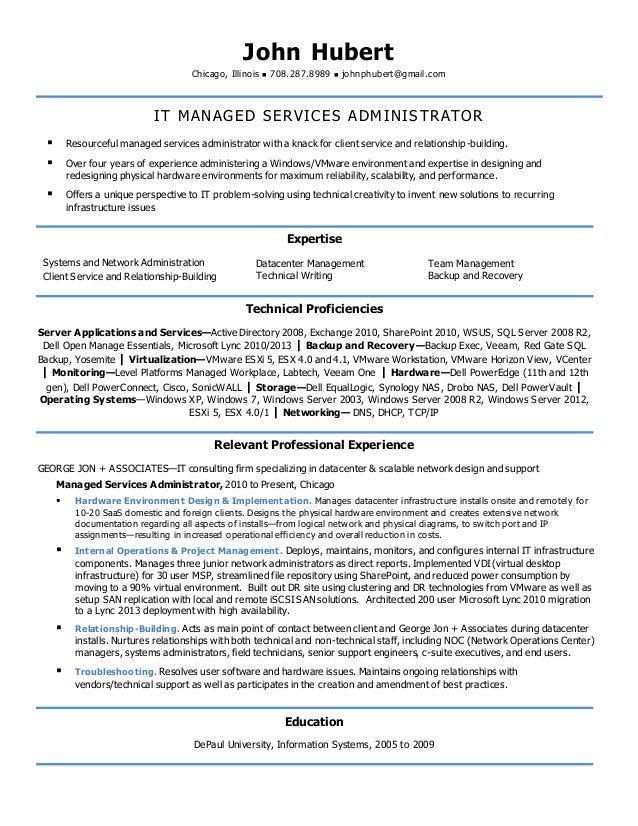 hardware network engineer resume models network administrators resume