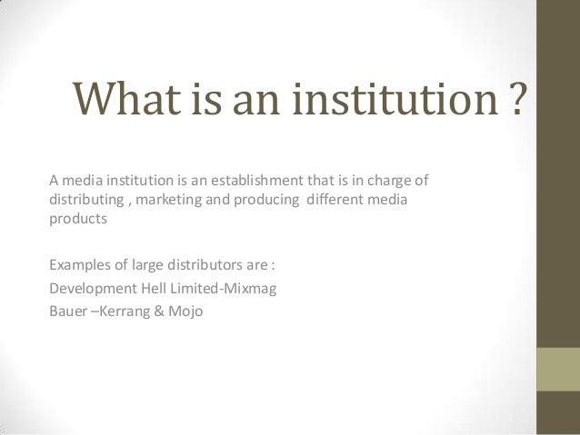 John institution q Slide 2