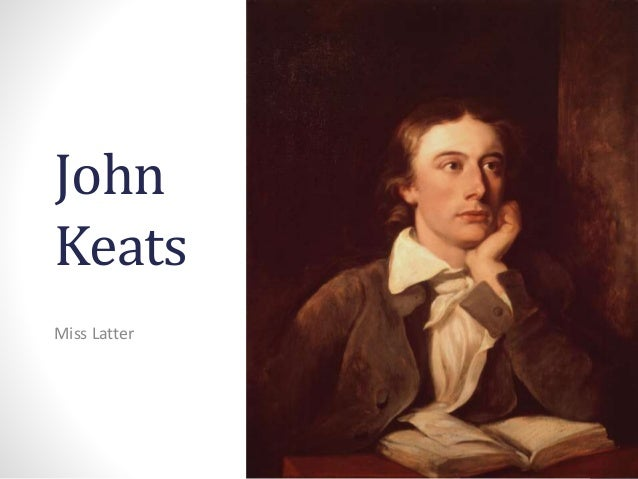 a discussion on the role of john keats in the romantic movement When john keats died at the age of 25, he had already written some of the most important works not only in british romanticism, but in all of english literature keats was a tiny, sickly, poor young man, who gave up medicine for poetry (yeah, good trade there, keats.