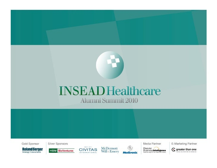 John kimberly wharton-insead business schools and the health sector