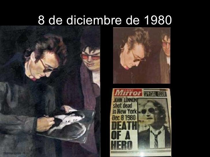 8 de diciembre de 1980