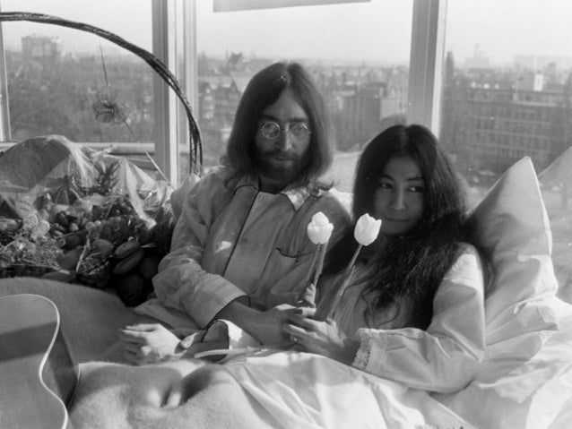 John Lennon And Yoko Onos Bed In 2