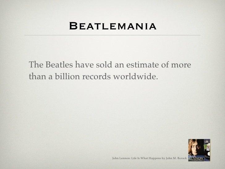 John Lennon: Life Is What Happens Slide 3