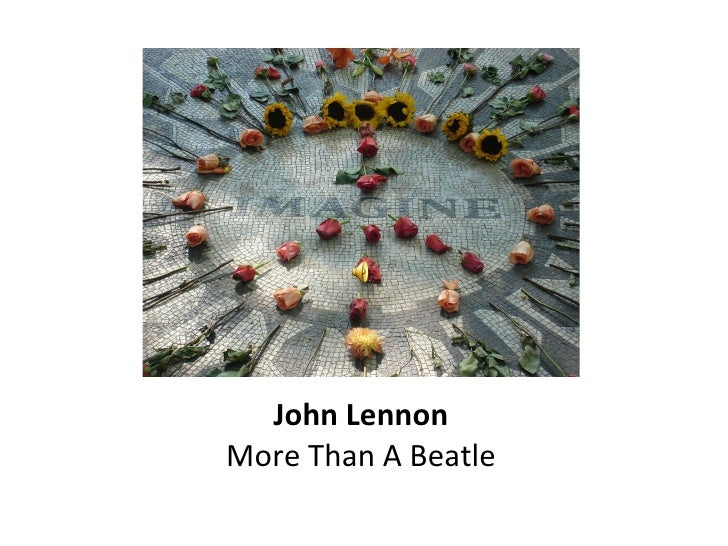 John Lennon More Than A Beatle