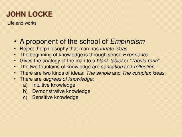 an analysis of john lockes approach to epistemology Need writing john locke principles essay use our essay writing services or get access to database of 189 free essays samples about john locke principles signup now and have a+ grades.
