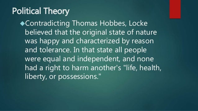 an analysis of the ideas for the world of thomas hobbes and john locke Morality in machiavelli, hobbes and locke: thomas hobbes and john locke hobbes and locke: a comparative analysis.