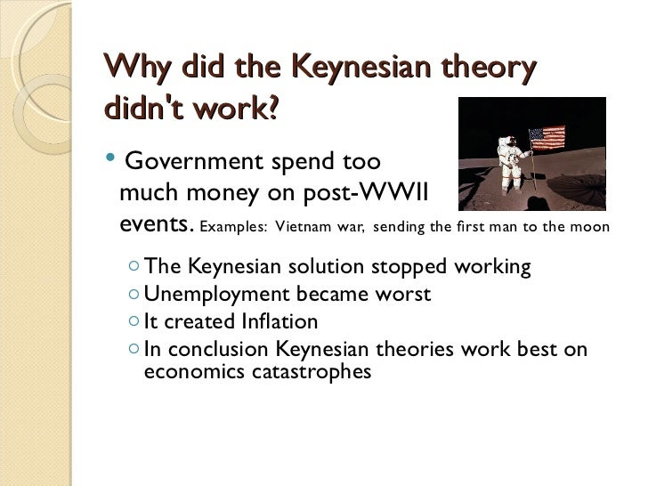 an introduction to the post keynesian theories of the consumption New keynesian economics is a school of  the decisions considered in most dsge models are consumption  what is post-keynesian economics introduction.