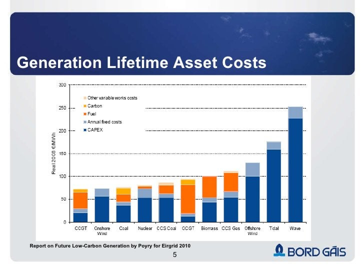Generation Lifetime Asset Costs Report on Future Low-Carbon Generation by Poyry for Eirgrid 2010